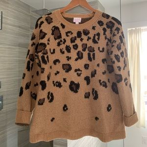 Isabel Maternity Cheetah Print Sweater